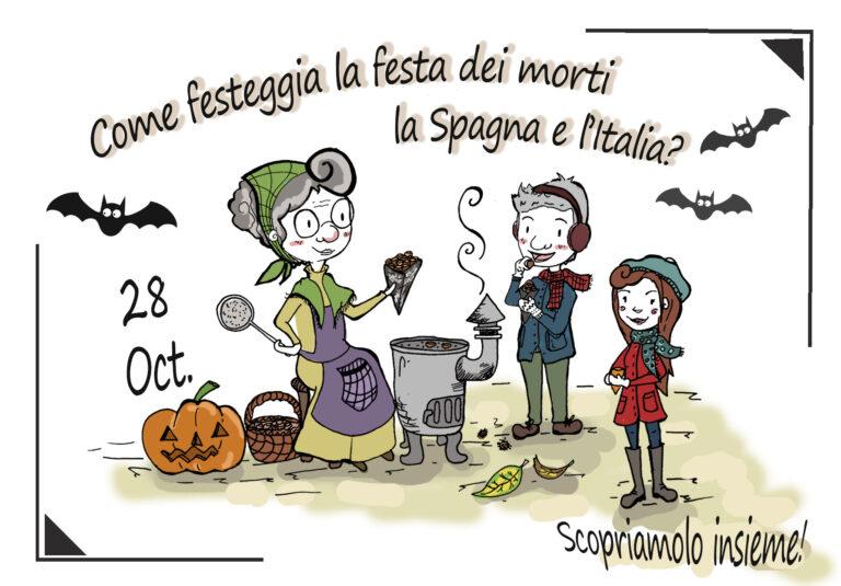 🥇Come festeggia la festa dei morti la Spagna e l'Italia? Scopriamolo insieme!